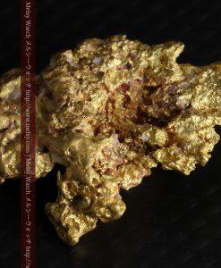 7.45gの自立して飾れる雰囲気の良い自然金-g0252-12
