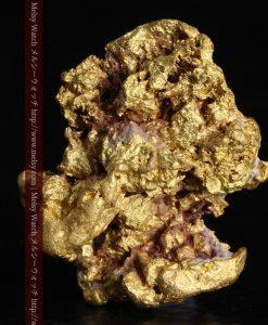 7.45gの自立して飾れる雰囲気の良い自然金-g0252-2