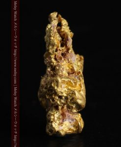7.45gの自立して飾れる雰囲気の良い自然金-g0252-4