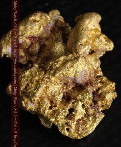 7.45gの自立して飾れる雰囲気の良い自然金-g0252-6
