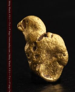 2.17gの愛嬌ある姿の自然金-g0256-1