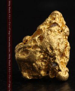 6.27gの少し大きめの存在感ある自然金-g0258-1