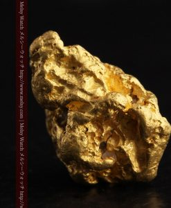 6.27gの少し大きめの存在感ある自然金-g0258-2