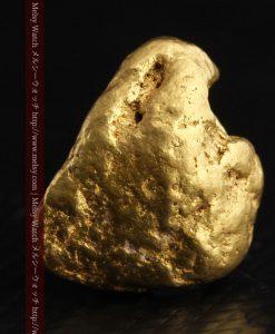 6.04gの丸みのある大きめの自然金-g0262-1