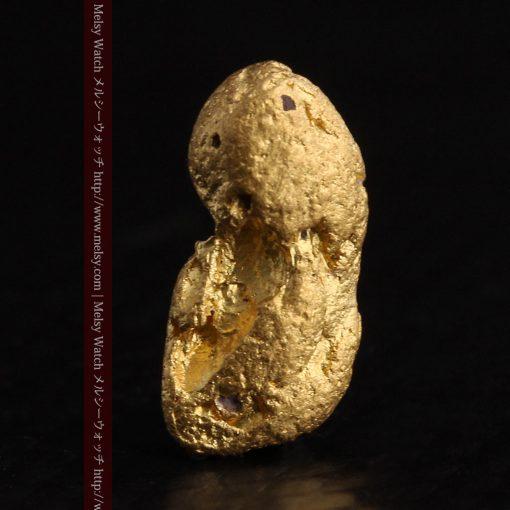 1.48gの豆のような形をした小さな自然金-g0263-3