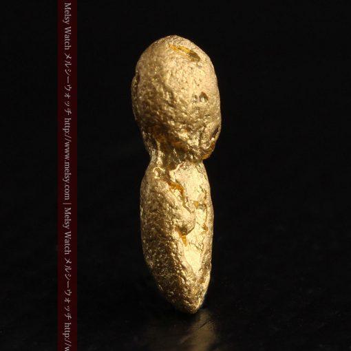 1.48gの豆のような形をした小さな自然金-g0263-4
