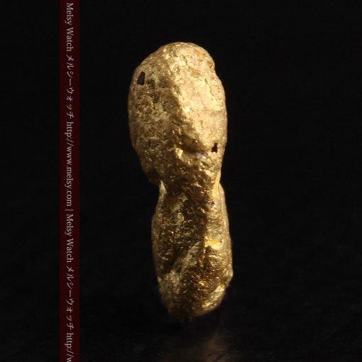1.48gの豆のような形をした小さな自然金-g0263-5