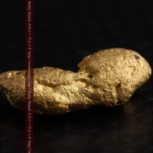 1.48gの豆のような形をした小さな自然金-g0263-7