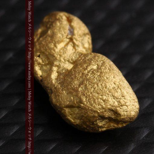 1.48gの豆のような形をした小さな自然金-g0263-9