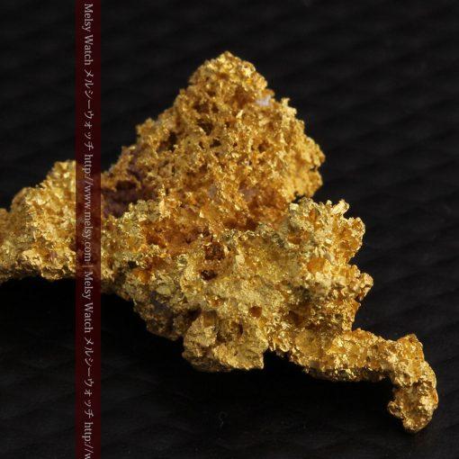 3.4gの非常に繊細な粒子の集まりのような自然金-g0268-1