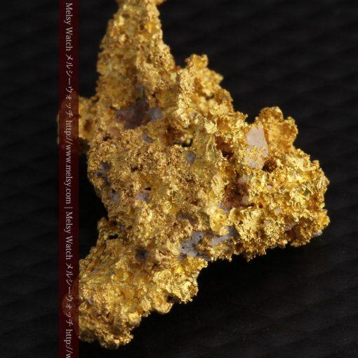 3.4gの非常に繊細な粒子の集まりのような自然金-g0268-10