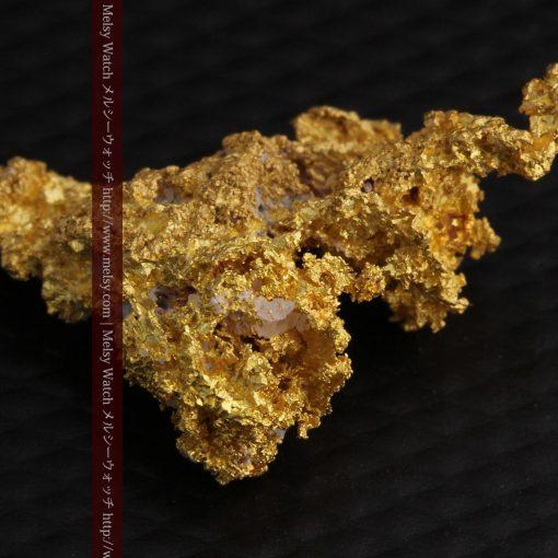 3.4gの非常に繊細な粒子の集まりのような自然金-g0268-11