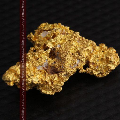 3.4gの非常に繊細な粒子の集まりのような自然金-g0268-14