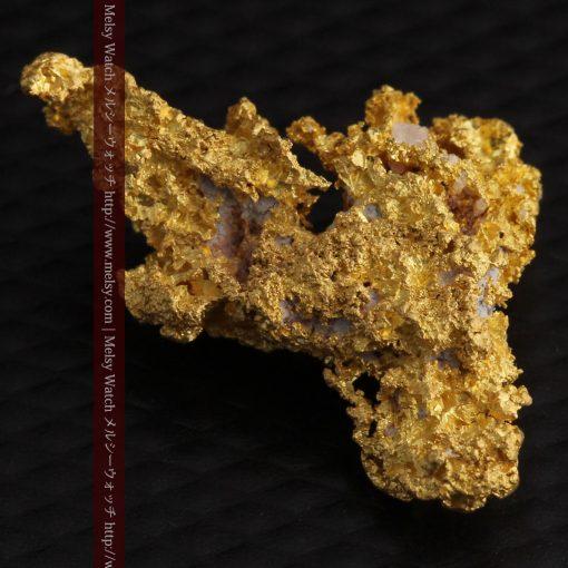 3.4gの非常に繊細な粒子の集まりのような自然金-g0268-15
