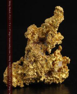 3.4gの非常に繊細な粒子の集まりのような自然金-g0268-2