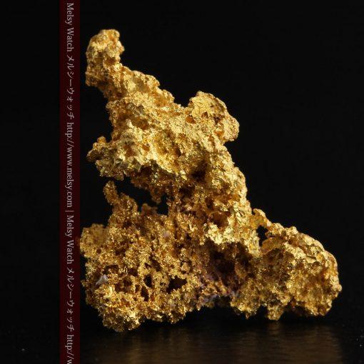 3.4gの非常に繊細な粒子の集まりのような自然金-g0268-3