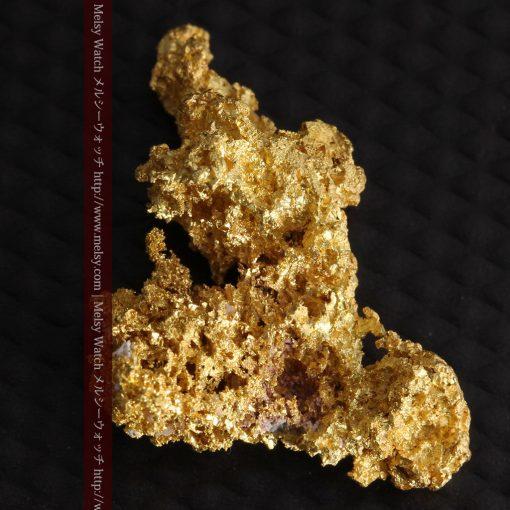 3.4gの非常に繊細な粒子の集まりのような自然金-g0268-6