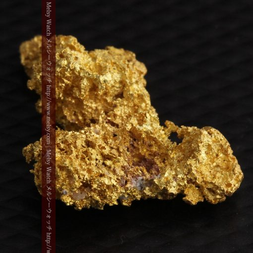 3.4gの非常に繊細な粒子の集まりのような自然金-g0268-9