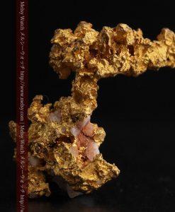 3.95gの恐竜・犬のような形の自然金-g0269-1