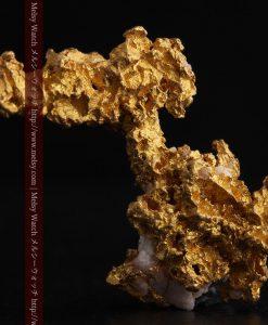3.95gの恐竜・犬のような形の自然金-g0269-2