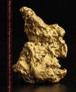 2.26gのねずみ・兎のような形の自然金-g0270-1