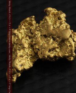 2.26gのねずみ・兎のような形の自然金-g0270-11