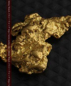 2.26gのねずみ・兎のような形の自然金-g0270-6