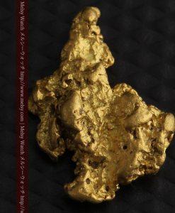 2.26gのねずみ・兎のような形の自然金-g0270-7