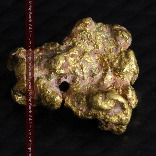 1.05gの表面に特徴のある自然金-G0271-7