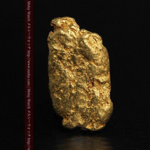 1.15gのスイカの種のような形の平らな自然金-g0272-1