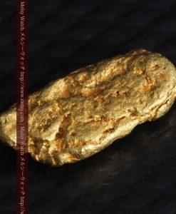 1.15gのスイカの種のような形の平らな自然金-g0272-10