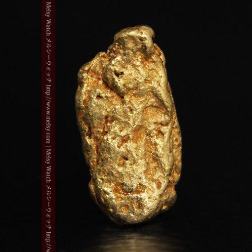 1.15gのスイカの種のような形の平らな自然金-g0272-2