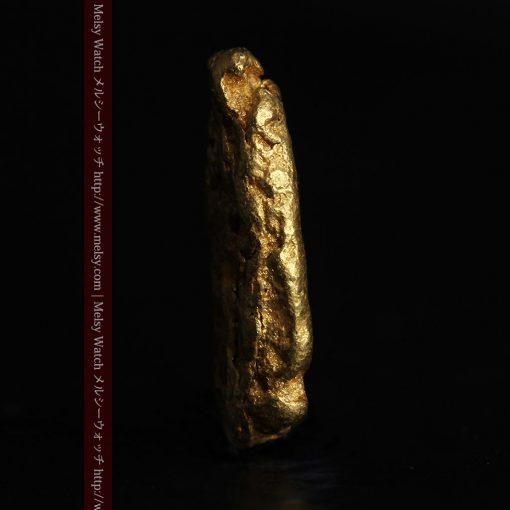 1.15gのスイカの種のような形の平らな自然金-g0272-3