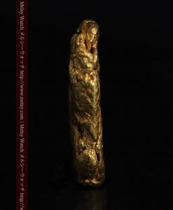 1.15gのスイカの種のような形の平らな自然金-g0272-4