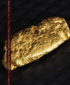 1.15gのスイカの種のような形の平らな自然金-g0272-5