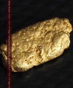 1.15gのスイカの種のような形の平らな自然金-g0272-7
