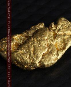 1.34gの物語りのお月さまのような平らな自然金-G0273-10