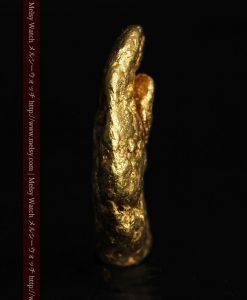 1.34gの物語りのお月さまのような平らな自然金-G0273-4