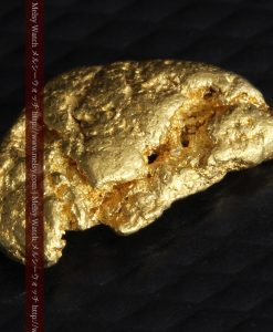 1.34gの物語りのお月さまのような平らな自然金-G0273-8