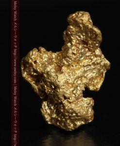 1.36gの色合いや形の綺麗な自然金-g0274-2