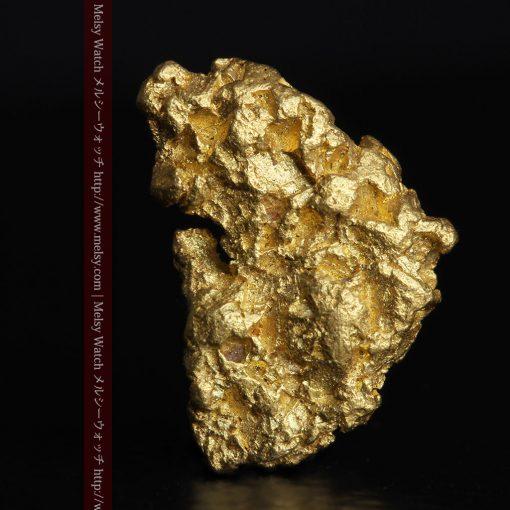 1.54gの半円状の平らな自然金-g0276-1