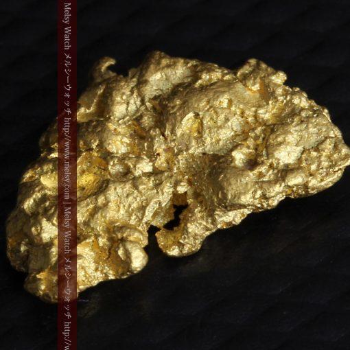 1.54gの半円状の平らな自然金-g0276-10