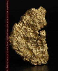 1.54gの半円状の平らな自然金-g0276-2