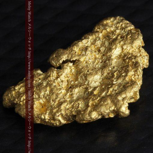 1.54gの半円状の平らな自然金-g0276-5