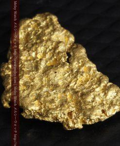 1.54gの半円状の平らな自然金-g0276-6