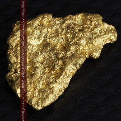 1.54gの半円状の平らな自然金-g0276-7