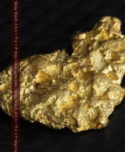 1.54gの半円状の平らな自然金-g0276-8
