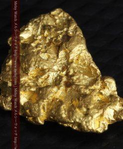 1.54gの半円状の平らな自然金-g0276-9