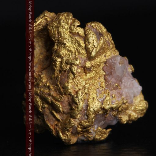 2.47gの石英が見える大きめのサイズの自然金-g0279-2