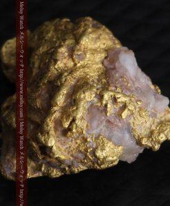 2.47gの石英が見える大きめのサイズの自然金-g0279-8